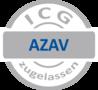 ICG Kundenlogo zur Trägerzulassung nach AZAV